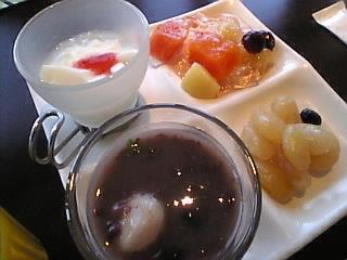 柿安三尺三寸箸 池袋東武店「デザート」
