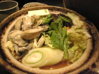はなの舞_志村店「牡蠣味噌鍋」