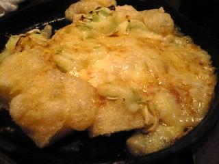 はなの舞_志村店「ポテトの唐辛子チーズ焼き」