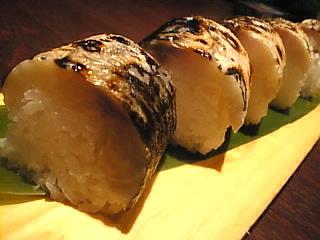 はなの舞_多摩センター「炙り〆鯖の棒寿司」