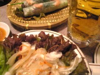 ベトナム料理_ミュン「生ビール」