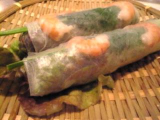 ベトナム料理_ミュン「生春巻」