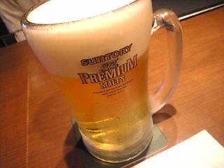 PRONTO_新宿三丁目店「プレミアムモルツ」
