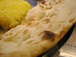 インド料理ボンベイ_カフェ「ハッピーランチ(ナン)」