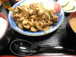金太郎「焼肉定食」