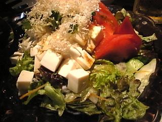 純○_新宿「豆腐サラダ」