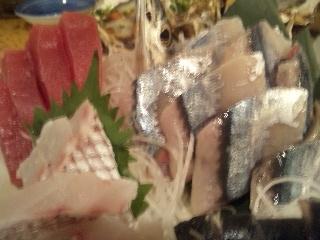 魚金 2号店「刺身三点盛り」