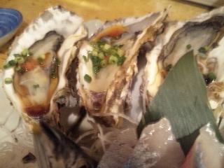 魚金 2号店「牡蠣」