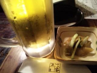 居酒屋 まさ家「生ビール」