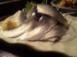 居酒屋 まさ家「鯖刺身」
