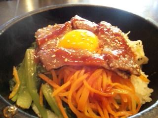 韓国家庭料理 チェゴヤ「石焼カルビ丼」
