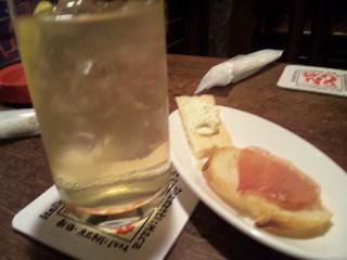新宿 居酒屋 どん底「どん底カクテル」
