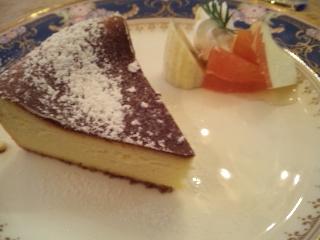 小倉山cafe SCENE「チーズケーキ」