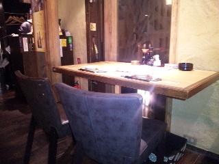 居酒屋 かまどか 新橋店「テーブル」