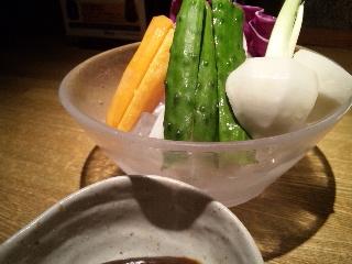 居酒屋 かまどか 新橋店「野菜スティック」