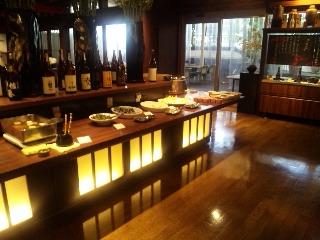 Dynamic Dining 御八 晴海トリトン店「店内」