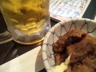 遊酔亭 かり屋「生ビール」