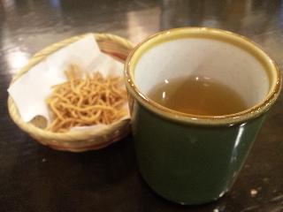 信州そば処 そじ坊「お茶」