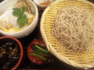 信州そば処 そじ坊「カツ丼セット」