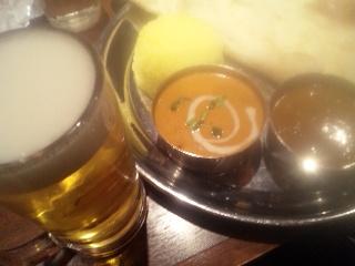 シディーク 新宿西口「生ビールとBセット」