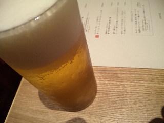 KICHIRI relax & dine「生ビール」