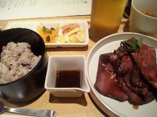 KICHIRI relax & dine「特製ローストビーフ膳」