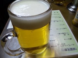 なんどき屋 新橋「生ビール」