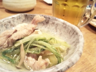 鳥どり 新宿三丁目店「鶏しお鍋2」