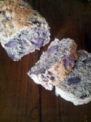 紫いものパウンドケーキ