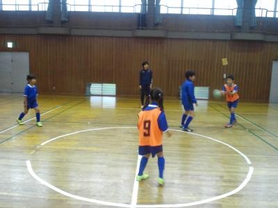 体育館でのボール運動