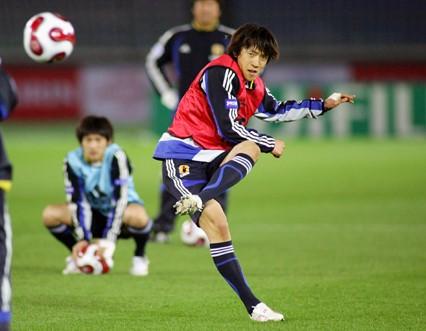 中村選手代表