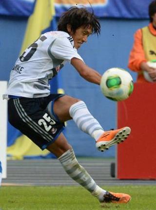 中村選手横浜
