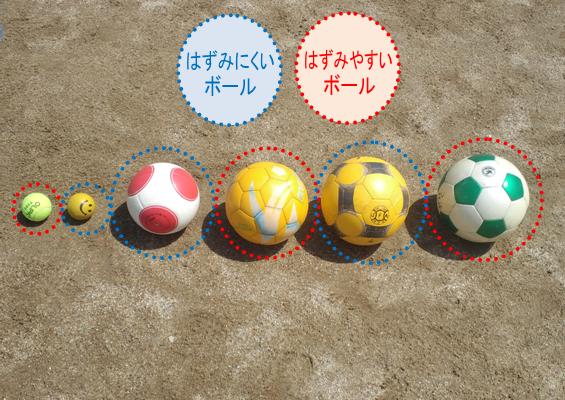 いろいろなボール