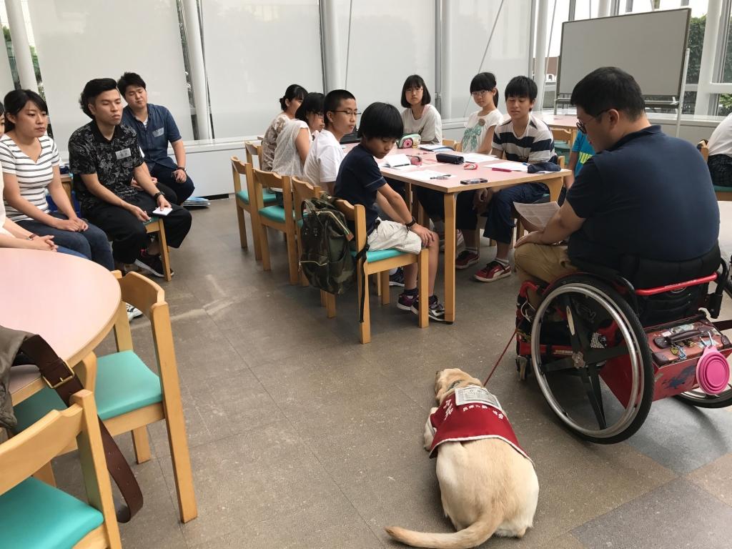 ふなばし夏のボランティア体験