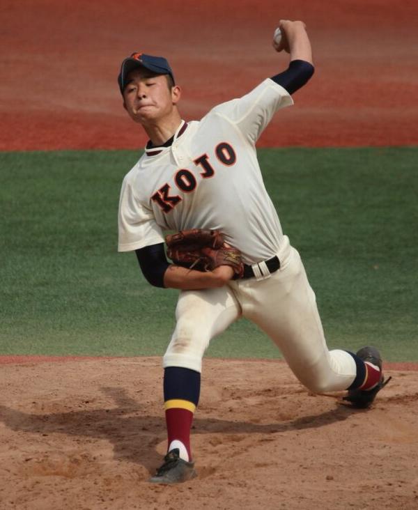 日名子広大投手(向上高校3年)