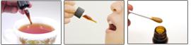 ■利用方法その1スポイト1回分をお好みの飲み物(水・紅茶・茶・ハーブティーetc)に入れて摂取。■利用方法その2口の中に数滴落として口の中で転がすようにして摂取。■利用方法その3鼻水など鼻が不快な時に、綿棒や指先に取って、直接、鼻腔の粘膜につける