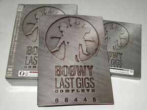 "LAST GIGS"" COMPLETE』のCD/DVD"