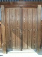 木製雨戸 施工前