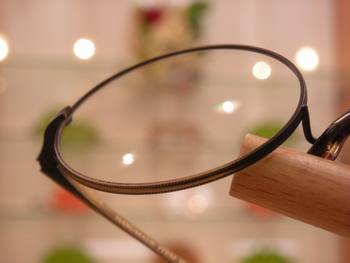 丸メガネ1
