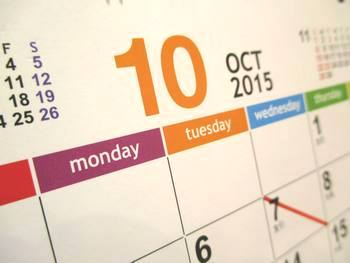 カレンダー2015‐10月