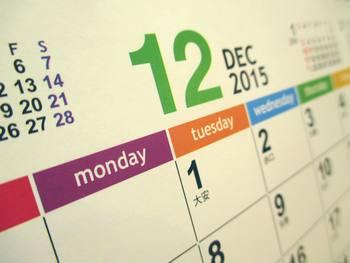 カレンダー2015-12月