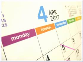 カレンダー2017-4月
