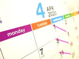 カレンダー2020-4月