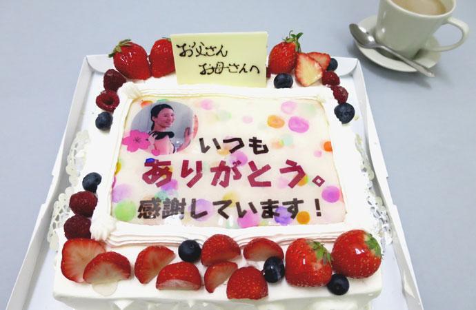 フードプリンター らくらく印刷 写真ケーキ