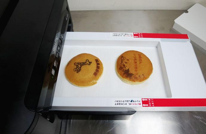 フードプリンタ<br /> お菓子 印刷
