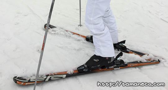 レンタルスキーのセット(湯沢パークホテル)