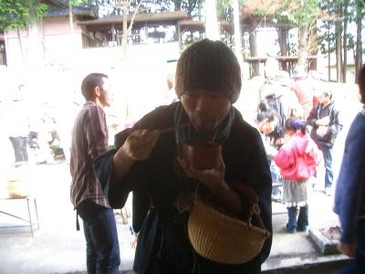 わら納豆試食