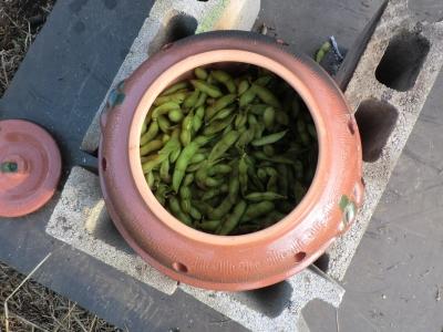 石焼き枝豆