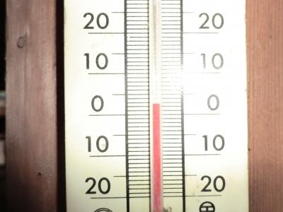 気温は2.5℃