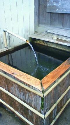 久留里の湧き水